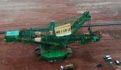 Protest Greenpeace w kopalni Turów