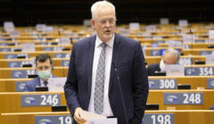 Petri Sarvamaa w Parlamencie Europejskim
