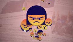 Wkurzone emotikony Facebooka przypominające Kaję Godek, księdza oraz nacjonalistę