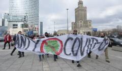 Demonstracja przeciwników obostrzeń i szczepień, Warszawa, 20 marca 2021
