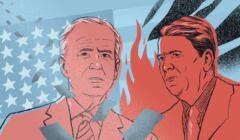 Joe Biden i Ronald Reagan