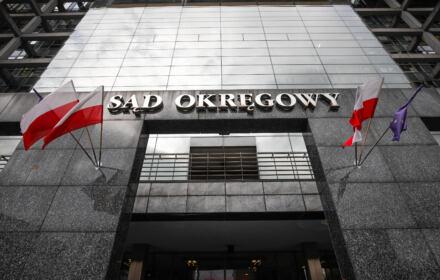 Budynek Sadu Okregowego w Krakowie