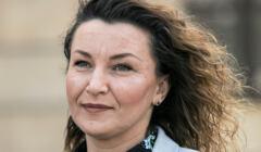 Posłanka Lewicy, Monika Pawłowska, przechodzi do Porozumienia Jarosława Gowina, 21 marca 2021, Fot. Jakub Orzechowski / Agencja Gazeta
