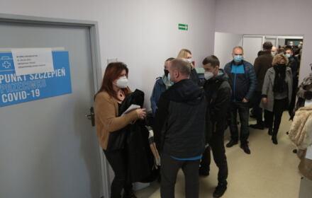 punkt szczepień w Kielcach