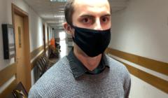 Aktywista Extinction Rebellion Karol Kyć