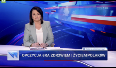 Wiadomości TVP - 18 marca 2021, materiał o opozycji
