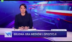 Wiadomości TVP - Materiał o tym jak OKO.press opisało Tymoteusza Szydło