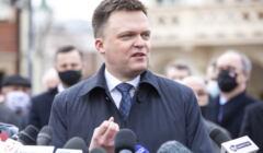 Szymon Hołownia na wiecu w Rzeszowie