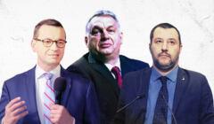 Morawiecki, Orban, Salvini