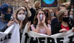 25.09.2020 Krakow . Mlodziezowy Strajk Klimatyczny . Fot. Jakub