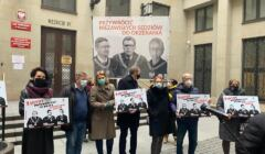 Igor Tuleya wrócił do pracy - demonstracja