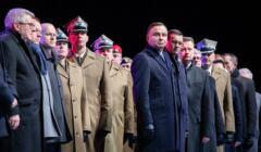Andrzej Duda na uroczystościach ku czci żołnierzy wyklętych