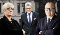 Julia Przyłębska, Stanisław Piotrowicz, Adam Bodnar