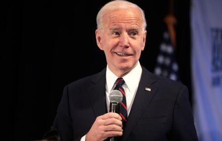 Joe Biden przemawia