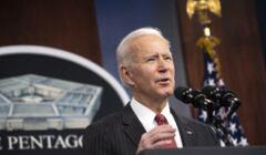 Prezydent Biden przemawia w Penatgonie
