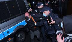 Warszawa, protest 15.04.2021, po decyzji w spr RPO