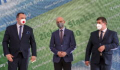 minister klimatu Michał Kurtyka po podpisaniu porozumienia