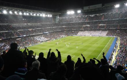 Stadion Realu Madryt - Real był jednym z założycieli piłkarskiej Superligi