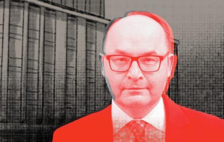 Andrzej Papierz i gmach MSZ