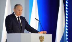 Władimir Putin przemawia