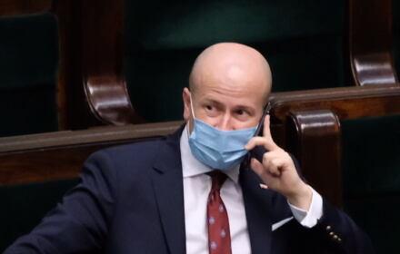 PiS przegłosował w Sejmie kandydaturę Bartłomieja Wróblewskiego na urząd RPO, 15 kwietnia 2021