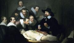 Rembrandt, Lekcja anatomii dr. Tulpa