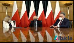 Jarosław Kaczyński na spotkaniu online z Klubami Gazety Polskiej, 31 marca 2021