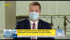 Przemysław Czarnek w programie TVN24