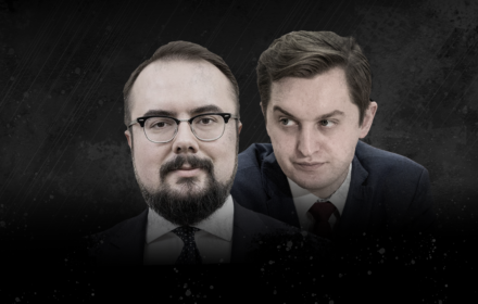 Paweł Jabłoński i Sebastian Kaleta