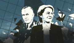 Gen. George Marshall i Ursula von der Leyen