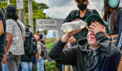 Kolumbia protesty 2021