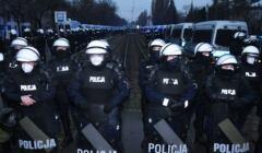 13.12.2020; policja pod domem Jarosława Kaczynskiego, Strajk Kobiet