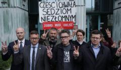 Paweł Juszczyszyn, Igor Tuleya, Krystian Markiewicz przed Sądem Najwyższym