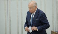 Senator Marek Borowski o wydarzeniach wokół Funduszu Odbudowy: