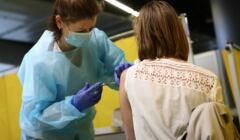 szczepienia w Krakowie na Tauron Arena
