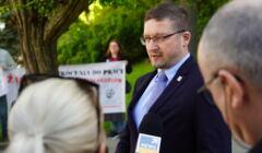 Pawel Juszczyszyn wrocil do pracy w Olsztynie