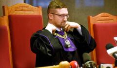 Paweł Juszczyszyn na sali sądowej