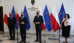 Tomasz Grodzki i Bogdan Klich w Senacie