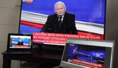 Prezes PiS Jarosław Kaczyński ogłasza Polski Ład