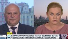 Marek Dyduch i Barbara Nowacka u Moniki Olejnik