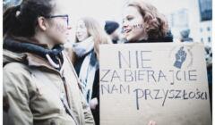 Uczetsniczki Młodzieżowego Strajku Klimatycznego,