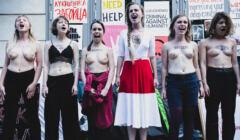Warszawa, 02.06.2021. Protest solidarnościowy z represjonowanymi Białorusinkami i Białorusinami