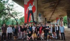 Mural na 5-lecie OKO.press