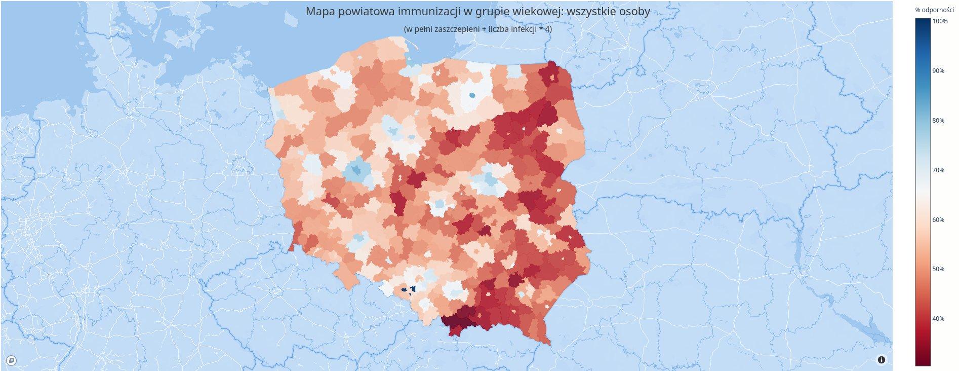 odporność populacyjna w PL
