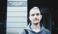 Klaudiusz, ofiara ataku na Marsz Równości w Łodzi