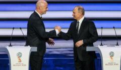 Putin i Infantino, prezes FIFA