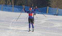 Prezydent Andrzej Duda na zawodach narciarskich dla niepelnosprawnych w Zakopanem
