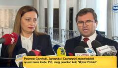 Zbigniew Girzyński i Małgorzata Janowska