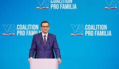 Mateusz Morawiecki otwiera konferencję V4+ Pro Familia