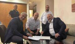 Liderzy izraelskiej opozycji przy jednym stole